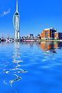 Spinnaker Reflections by Colin  Williams Photography