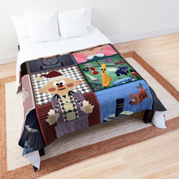Misfit Squares Comforter
