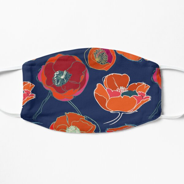 California Poppies Mask