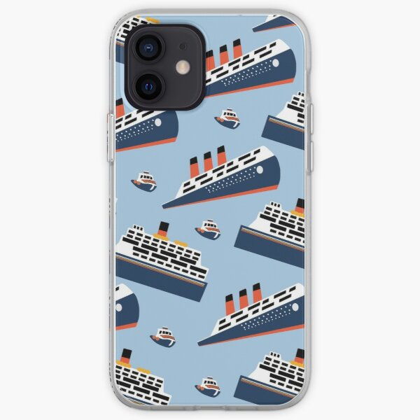 Tapa de fregar de ferry Funda blanda para iPhone