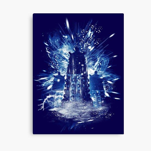 exterminate storm Canvas Print