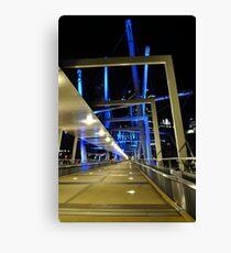 kurilpa bridge, brisbane, queensland, australia Canvas Print