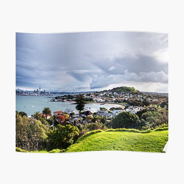 Auckland Skies Poster