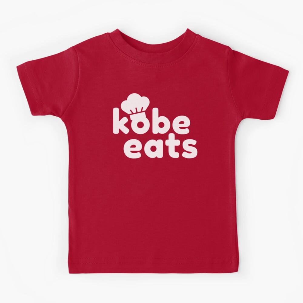 Kobe Eats - White  Kids T-Shirt