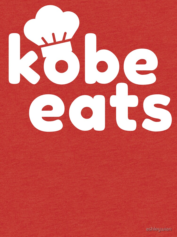 Kobe Eats - White  by ashleywian