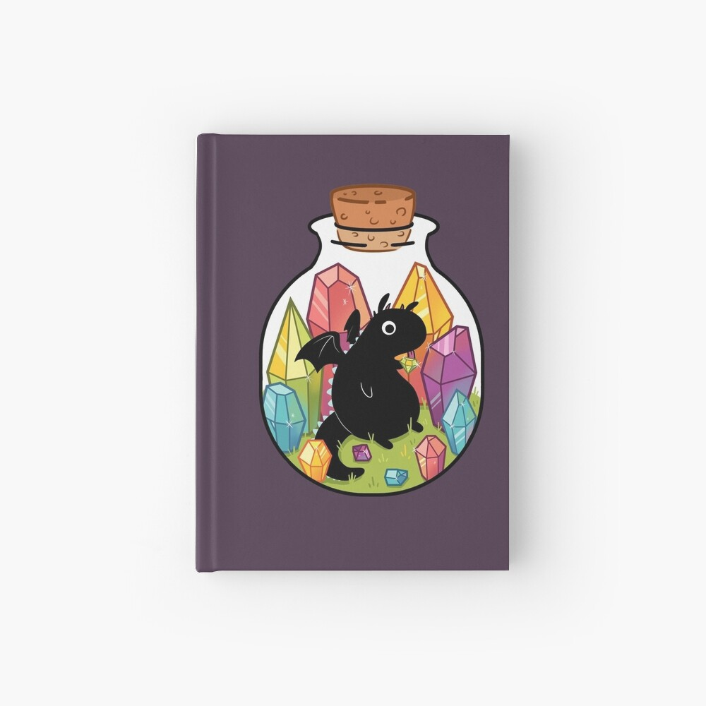 Dragon in a Bottle Hardcover Journal