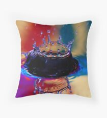 Colouful Coronet Throw Pillow