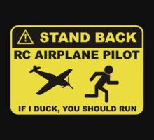 RC Airplane Pilot - Stand Back | Unisex T-Shirt
