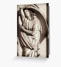 angel wings entwine Greeting Card