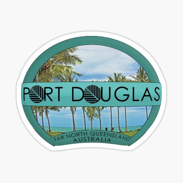 Emblematischer Port Douglas 1 Sticker
