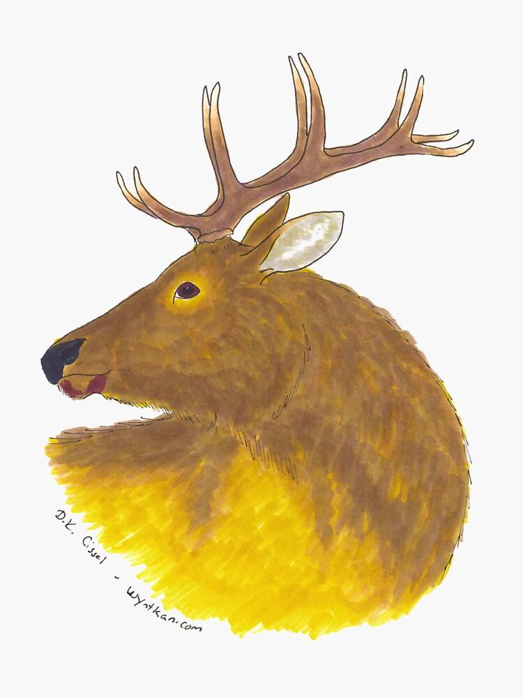 Roosevelt Elk by wyntkan