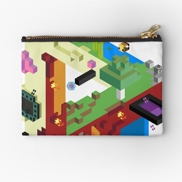 The Three Realms Zipper Pouch
