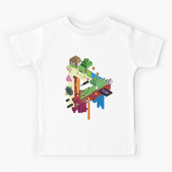The Three Realms Kids T-Shirt