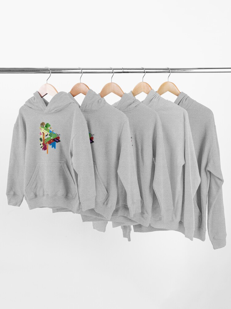 Alternate view of The Three Realms Kids Pullover Hoodie