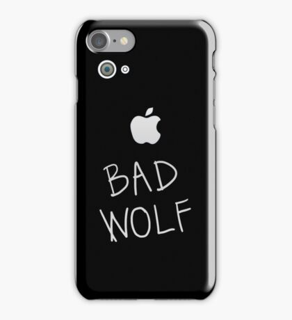 Bad Wolf (IPhone) iPhone Case/Skin