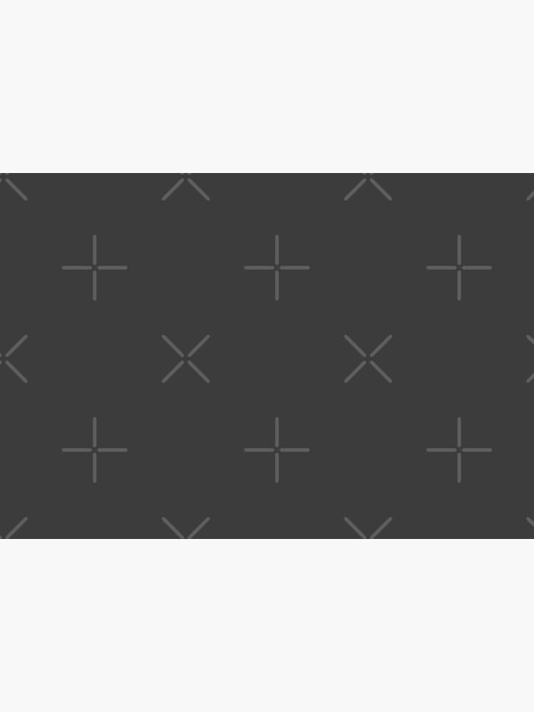 Einfache einfache anthrazitfarbene Vollblockfarbe von PrintAngels