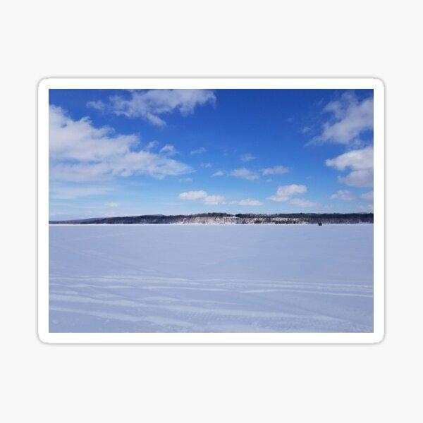 Sky & snow Sticker