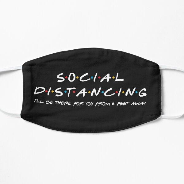 social distancing Masque sans plis