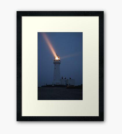 Flamborough Lighthouse. UK Framed Print