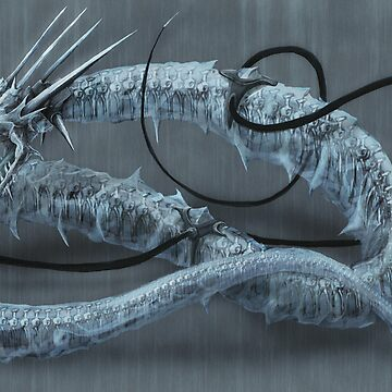 Mecha-Ice-Dragon by lurchkimded
