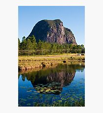 Mt Tibrogargan Reflection Photographic Print