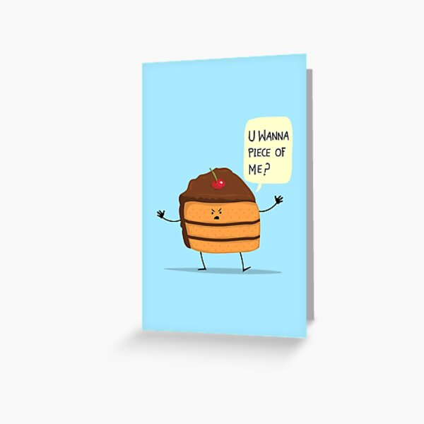 Trouble Baker! Greeting Card