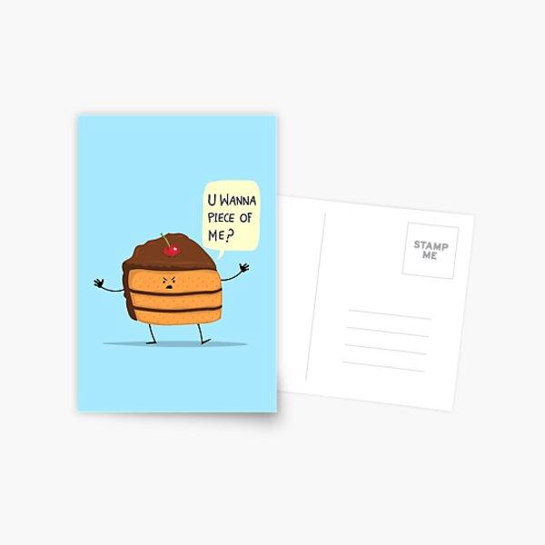 Trouble Baker! Postcard