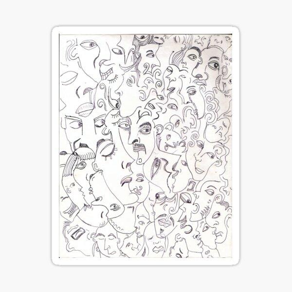 Collective conscious 1 Sticker
