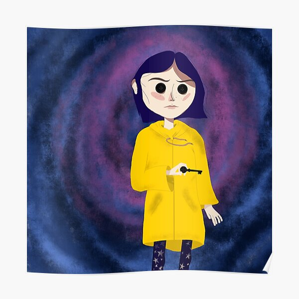Coraline Art Posters Redbubble