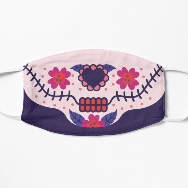 Cute Catrina Face Mask Mask