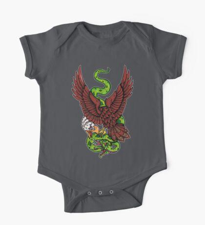 Eagle vs Snake Kids Clothes