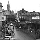 Fore Street Trowbridge showing cinema by Trowbridge  Museum