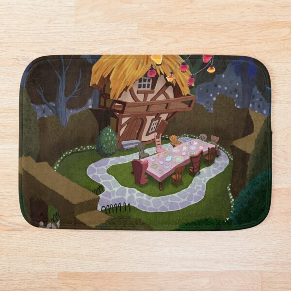 Wonderland - Kingdom Hearts Bath Mat