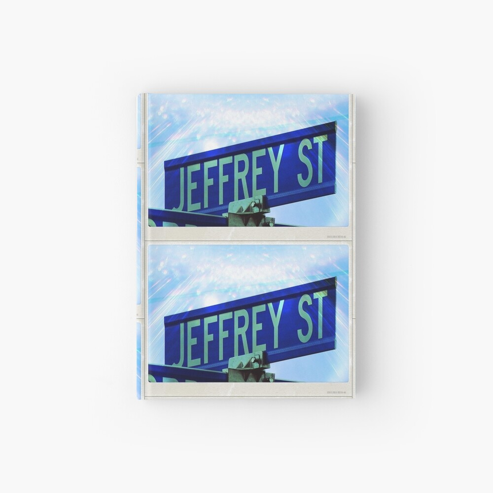 A gift for Jeffrey, Jeffrey, Jeff  Hardcover Journal