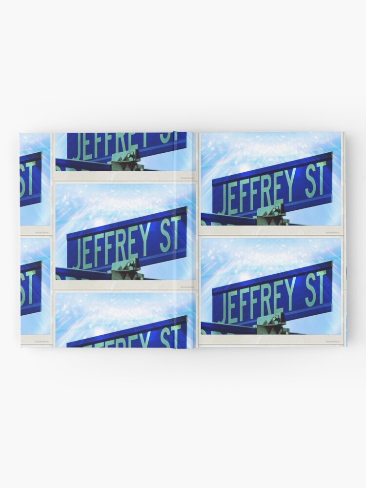 Alternate view of A gift for Jeffrey, Jeffrey, Jeff  Hardcover Journal