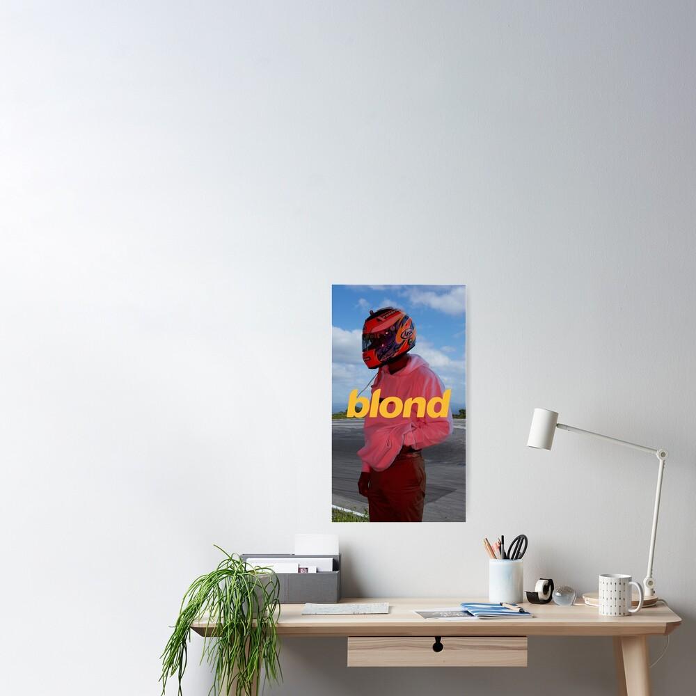 Frank Ocean Poster, Art Print, Etc. - Blonde Aesthetic  Poster