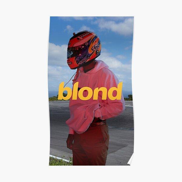 Affiche Frank Ocean, Art Print, Etc. - Esthétique blonde Poster