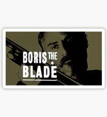 Boris the Blade Sticker