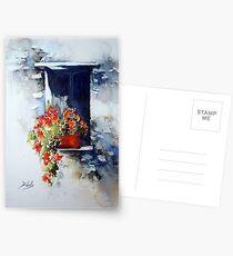 Tuscany Window Postcards