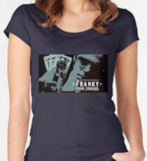 Franky Four Fingers Women's Fitted Scoop T-Shirt