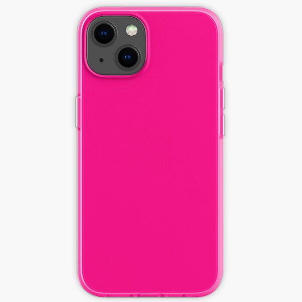 iPhone XR Hot Pink - iPhone 11 Pro Cell Phone Case Cover iPhone Soft Case