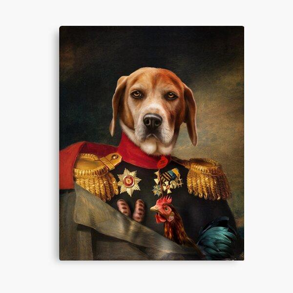 Beagle Dog Portrait - Steve Canvas Print