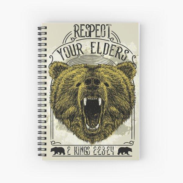 Respect Your Elders Spiral Notebook
