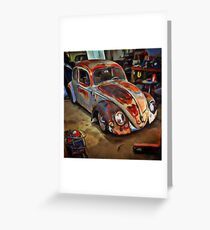 Garaged Greeting Card
