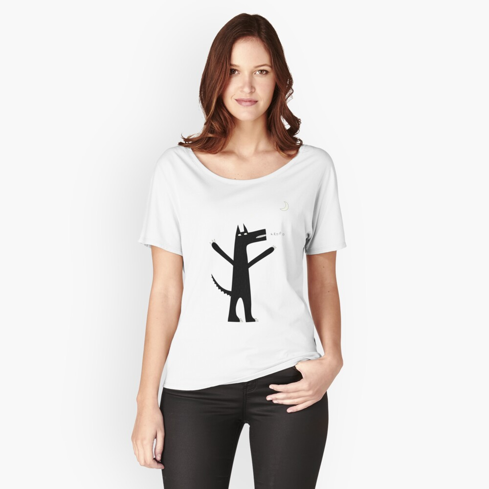 Arooo Women's Relaxed Fit T-Shirt Front