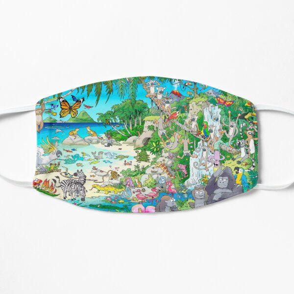 Mermaid Island Mask