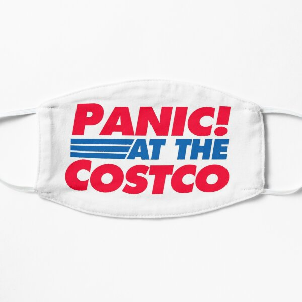 Panic! at the Costco Funny Coronavirus 2020 Vinyl Sticker Computer Decal Quarantine Mask