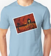 Ukulele Lady Postcard Unisex T-Shirt