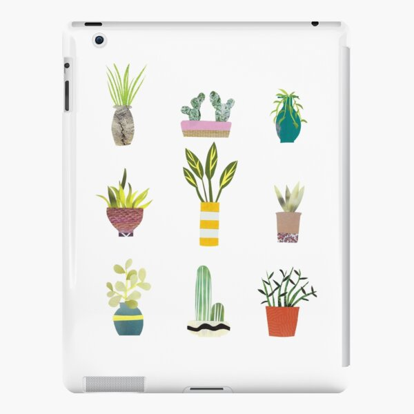 Potted Plants Collage iPad Snap Case
