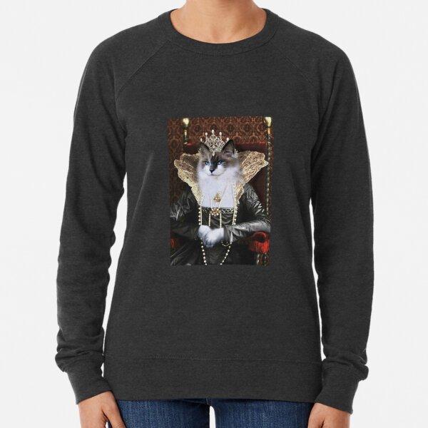 Cat Portrait - Skyler Lightweight Sweatshirt